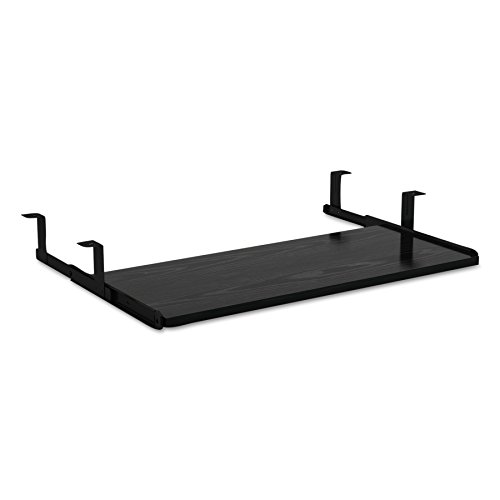 Alera ALEVA312812BK Valencia Series Underdesk Keyboard/Mouse Shelf, 28w x 12d, Black