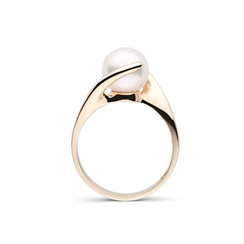 Embrace Collection Akoya Cultured Pearl Ring - 14K Yellow Gold - Ring Size ()