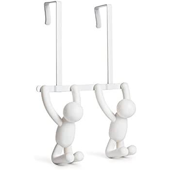 Amazon.com: Umbra Buddy Wall Hooks – Decorative Wall Mounted ...