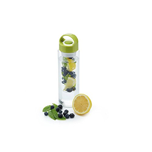 Infuser / Water Bottle - Chamber for Fruit which infuses in to your water