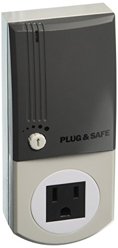 Plug & Safe PS8 Home Security System, Grey by Plug & Safe