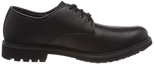 Timberland Stormbucks Plain Toe, Scarpe Stringate Oxford Uomo Nero (Black Smooth 001)
