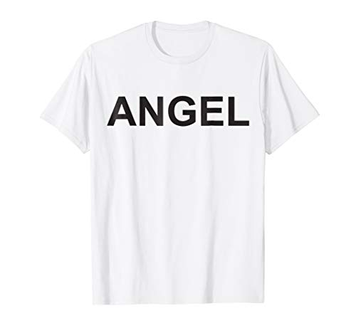 Angel Halloween Shirt Costume Angel Devil Matching -