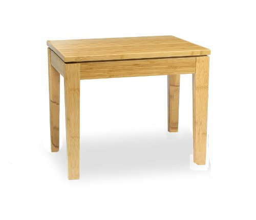 Amazoncom Bamboogle Brazil Bamboo Chow Table Honey Caramel - Chow coffee table