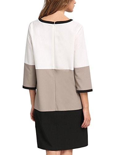 Mehrfarbig Print Intera Fashion APART Creme taupe Tuta Donna Taupe Black schwarz 7pqt0x