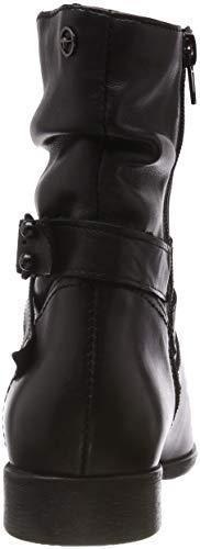 25009 Femme 1 Botines Noir black 21 Tamaris 4q8wBCd4