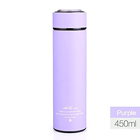 55729f687bd Hot Stainless Steel Vacuum Flasks Thermos Cup Water for Bottle 450ml Thermo  Coffee mug Insulated thermal bottle for Kitchen Car,450ML,Black:  Amazon.co.uk: ...