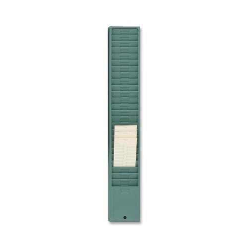 Acroprint Time Recorder Co. Time Card Racks (Acroprint Green Time Card Racks)