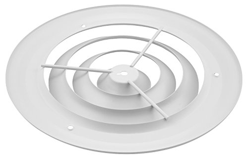 Accord Abcdwh08 Round Ceiling Diffuser 8 Inch White New