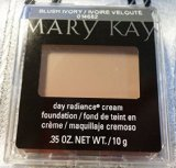 Fresh New Mary Kay Day Radiance Cream Foundation Blush Ivory/ 0.35 Oz/(10g.) (Mary Kay Foundation Almond Beige)