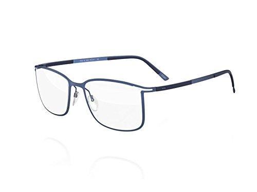Silhouette Eyeglasses Titan Contour Fullrim 5438 (JEANS BLUE, 55MM)