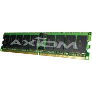 Axiom Memory 8GB Single Rank Module - 8 GB (1 x 8 GB) - DDR3 SDRAM - 1600 MHz DDR3-1600/PC3-12800 - ECC - Registered - 240-pin - DIMM 647899-B21-AX