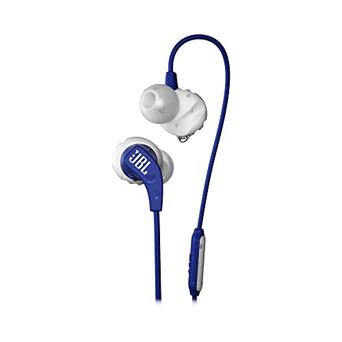 JBL Endurance Run, in-Ear Sport Headphone with One-Button Mic/Remote - Blue (Jbl Wireless Microphone)