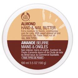 La Main Body Shop et le beurre à ongles, New amande, 3,5 once