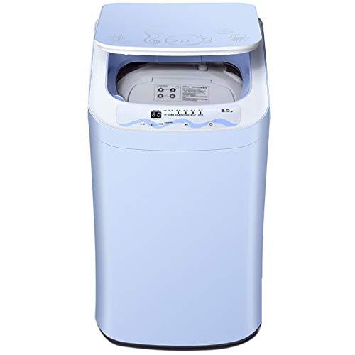 Mini Portable Washing Machine for Compact Laundry,Semi-Automatic Washing Socks Machine Underwear Briefs Dormitory Dedicated 400430720 MM (Blue)
