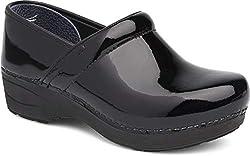 Dansko Women S Xp 2 0 Clog Black Patent 38 Medium Eu 7 5 8 Us