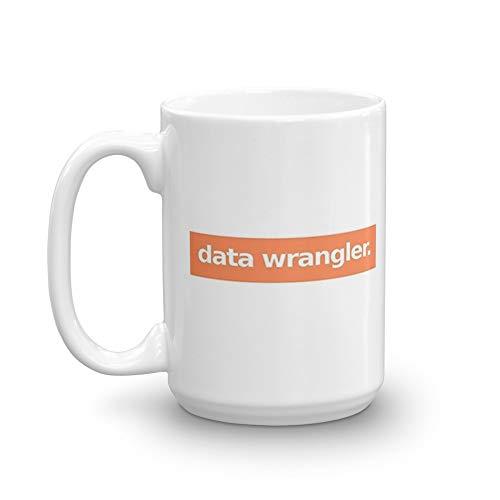Data Wrangler - Orange 15 Oz White Ceramic (Best Sentiment Analysis Python)