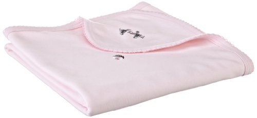 Margery Ellen Baby-Girls Newborn Embroidered Receiving Blanket