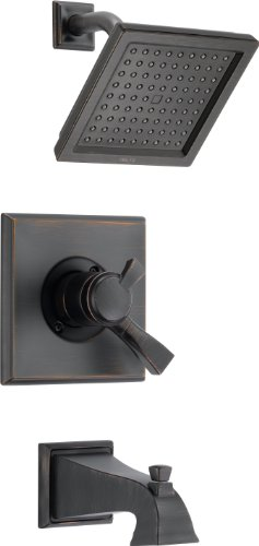 - Delta T17451-RB Dryden Monitor 17 Series Tub and Shower Trim, Venetian Bronze