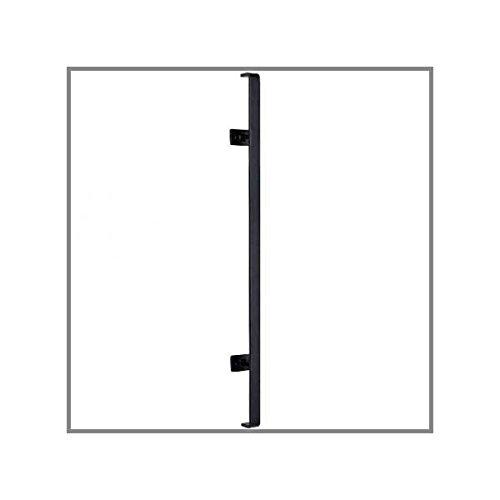 ノーブランド ITC 縦付けアイアン手すり 「モダン」L850黒(KR-6)白(KR-6-W)/ウェーブ研磨有 つや消し白 B0777DWC3W 13500  つや消し白