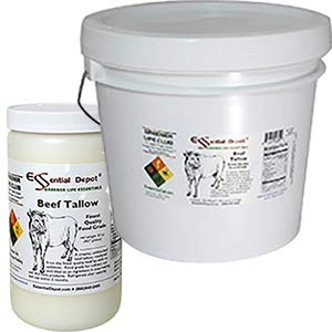Beef Tallow Finest Quality Food Grade - 32 oz. - 2 lb. - 1 Quart by Essential Depot (Image #4)