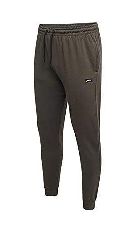 Slazenger Hombre Pantalones Joggers Pantalones de Chándal Gimnasio ...