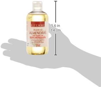 Bifemme Aceite de Almendras con Aceite de Rosa Mosqueta - 250 ml
