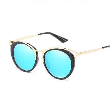GGSSYY Lovely Uv400 Gafas de Sol Mujer Espejo Gafas de Sol ...