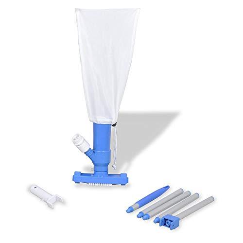 QIHONG - Kit de aspiradora para Chorro de natación con 4 Postes ...