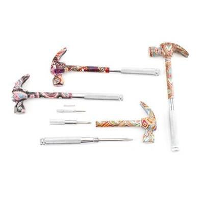5-In-1 diseño de flores de martillo y juego de destornilladores ...