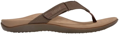 Orthaheel Mens Ryder Sandal Chocolate and Tan Size 9 [Apparel]