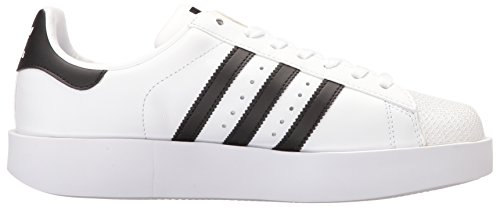 Adidas Originals Womens Superstar Bold W Sneaker Bianco / Nero / Oro Metallizzato
