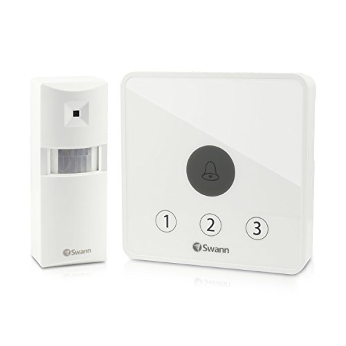 Swann Wireless Home Security System White SWADS-ALARMK-GL