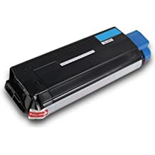 Okidata 43034803 Compatible Remanufactured Cyan Toner Cartridge for C3200 Printers