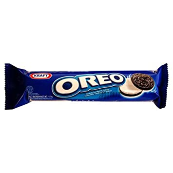 Oreo Vanilla Sandwich Cookies 137g Pack Of 3 Amazon Com Grocery