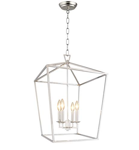 Iron Lantern Pendant Light
