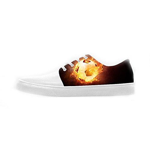 Women's Shoes Scarpe Scarpe Canvas Le Sport Calcio Custom 8fxEwgqq