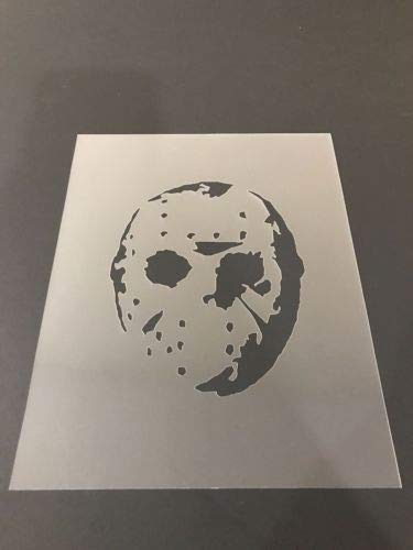 Jason Voorhees #1 Stencil Pumpkins, Halloween, Friday The 13th, Airbrushing -