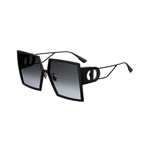 Authentic Christian Dior 30Montaigne 0807/1I Black Sunglasses, Lens-58 Bridge-15 Temple-135