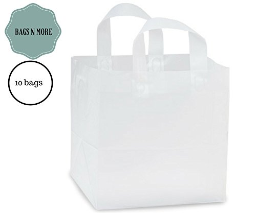Shopping Bags with Handle Frost Clear 10
