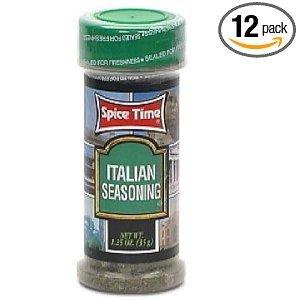 Price comparison product image Spice Italian Seasoning 1.25OZ (Pack of 24)