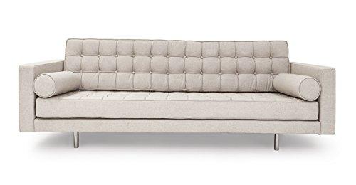 Kardiel Madison Mid-Century Modern Sofa, Heather Cashmere