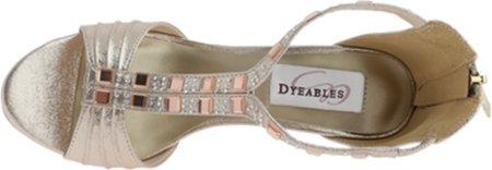 Dyeables Womens B00PD0B1SC Riley B00PD0B1SC Womens 8 B(M) US Champagne 2510fe