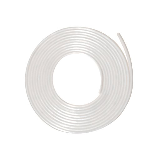 Fire/Smoke Self Adhesive Silicone Door Gasketing (5884S) in Clear, (3/8
