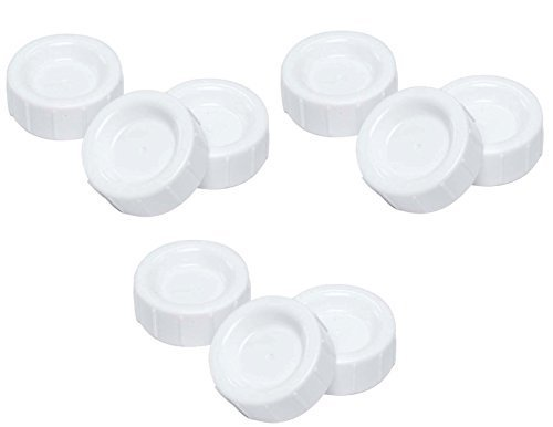 Dr. Brown's Natural Flow Standard Storage Travel Caps Replacement, 9 (Dr Browns Replacement Standard)