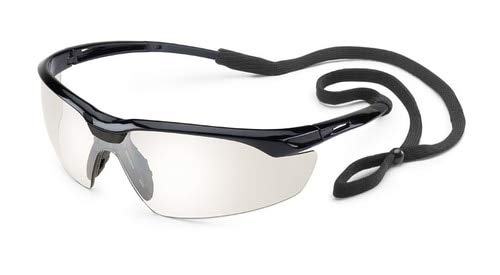 Gateway Conqueror Black Frame/Clear Mirror Lens Box of 10 Pairs (2 Boxes)