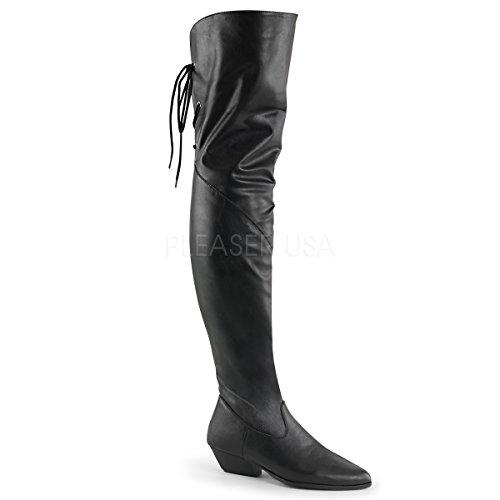 (Pleaser Women's Rodeo 8822 Pull On Black Boot 8 M)