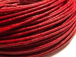 (Red Fuse for Model Rocketry 3.5 mm 20 ft Roll)