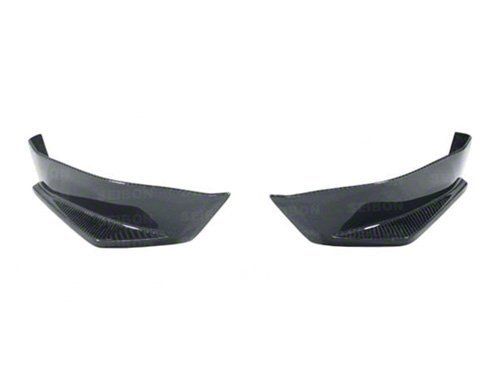 Seibon Carbon Fiber Rear Lip (Seibon KC-Style Carbon Fiber Rear Lip for 2012-2014 Scion FRS / Subaru BRZ)