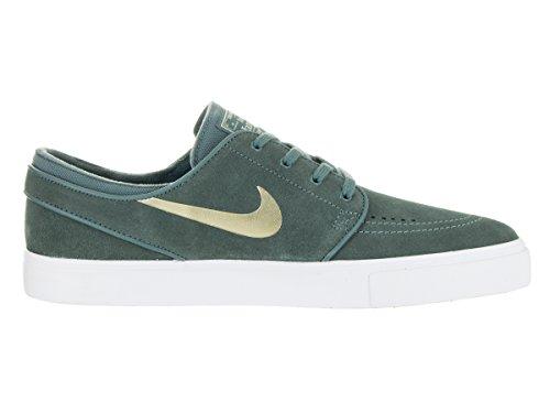 Nike Mens Zoom Stefan Janoski Skatesko Hasta / Metalliskt Guld-white